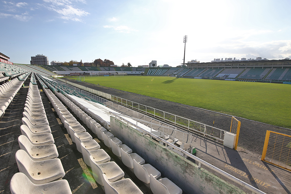 Visita técnica da Câmara Municipal de Setúbal ao Estádio do Bonfim