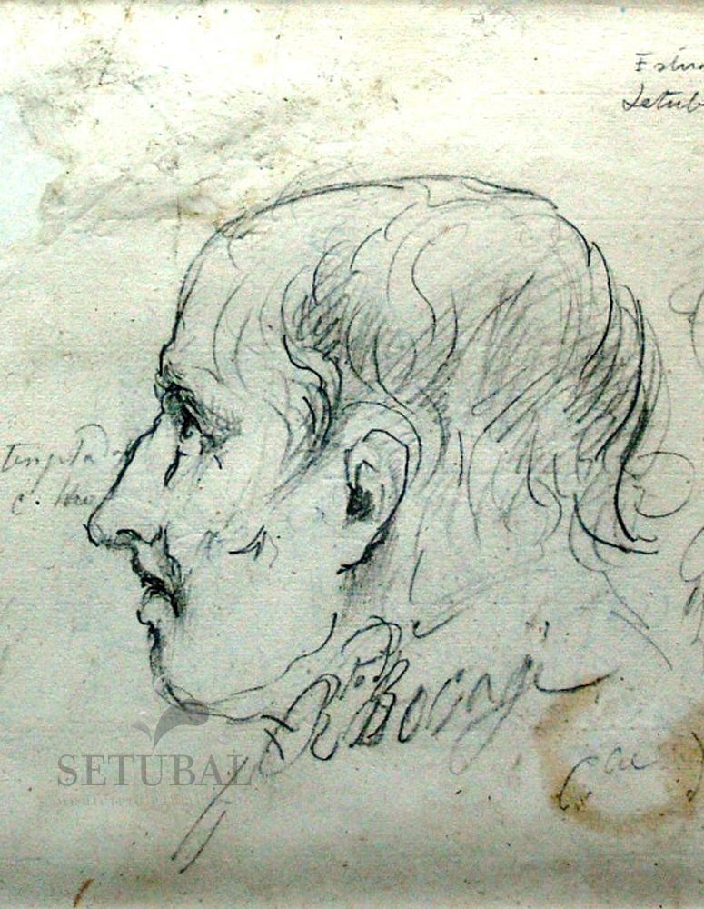Museu ao Seu Encontro | Estudo da cabeça da estátua de Bocage