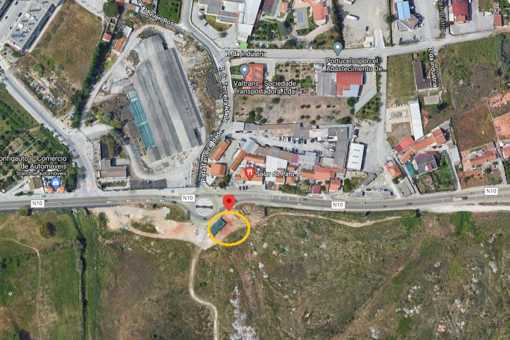 Avenida Álvaro Cunhal | Estacionamento | Localização