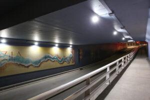 Túnel do Quebedo   iluminação LED