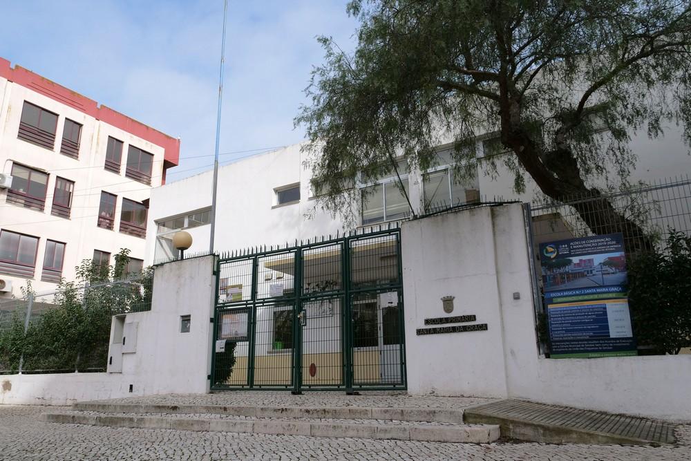 EB n.º 2 de Santa Maria da Graça | instalação de novas coberturas