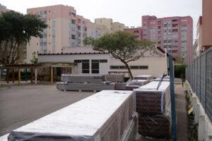 EB n.º 2 de Santa Maria | remoção de coberturas de fibrocimento