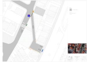 Requalificação da Rua dos Melros e da Avenida Soeiro Pereira Gomes | Planta