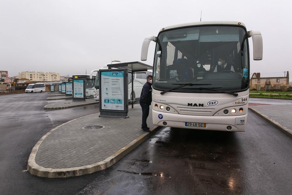 Terminal Rodoviário da Várzea | entrada de passageiros
