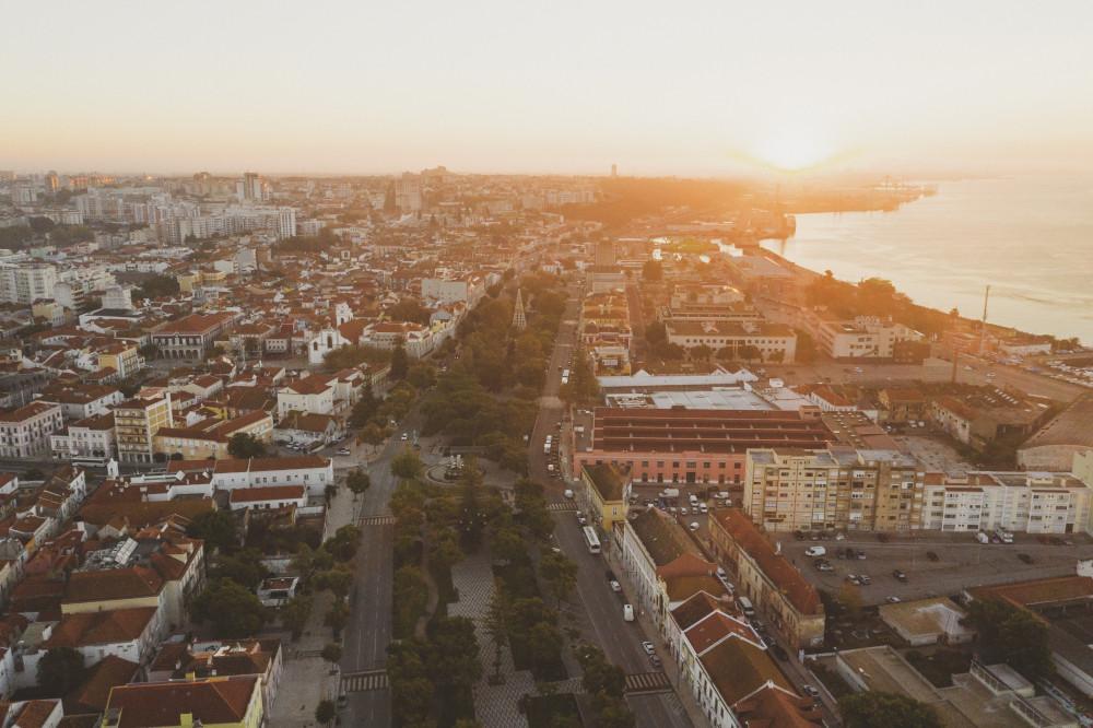 Avenida Luísa Todi | Vista aérea