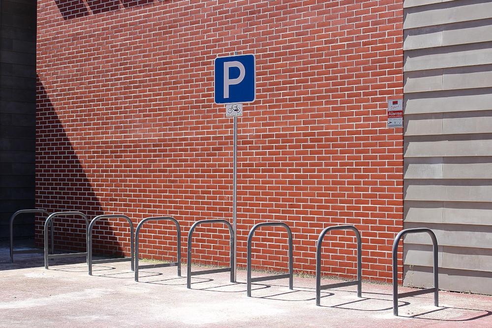 Parqueamento de bicicletas em escolas | Foto da Junta de Freguesia de São Sebastião