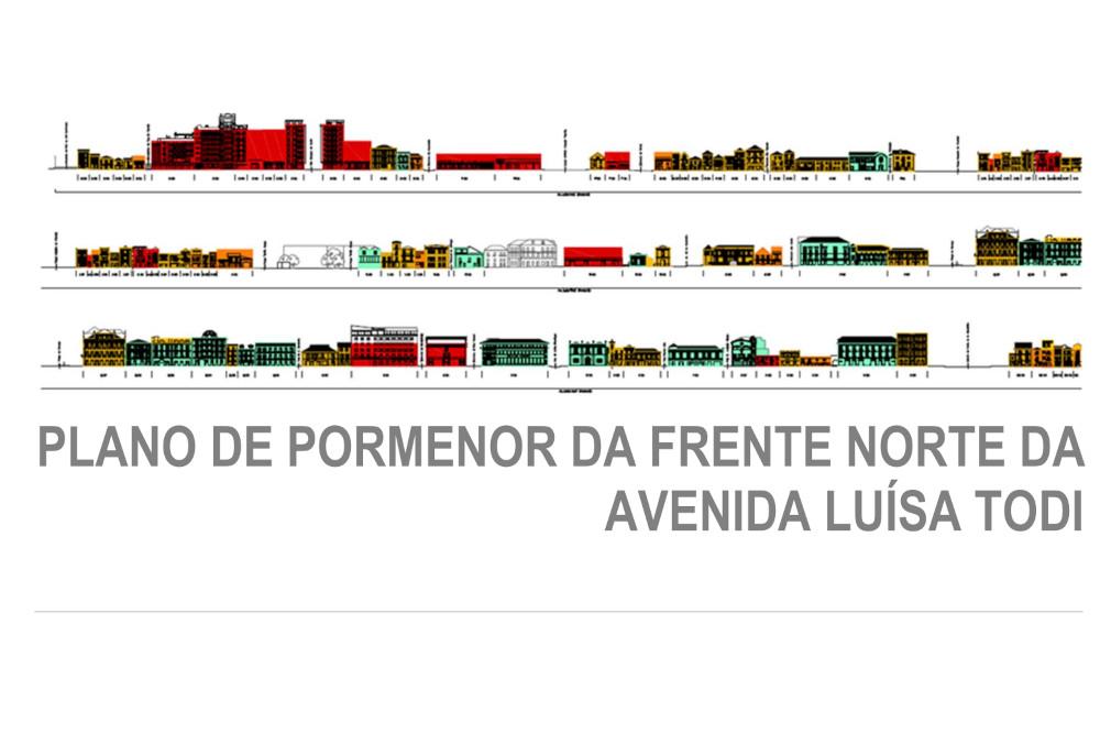 Plano de Pormenor da Frente Norte da Avenida Luísa Todi