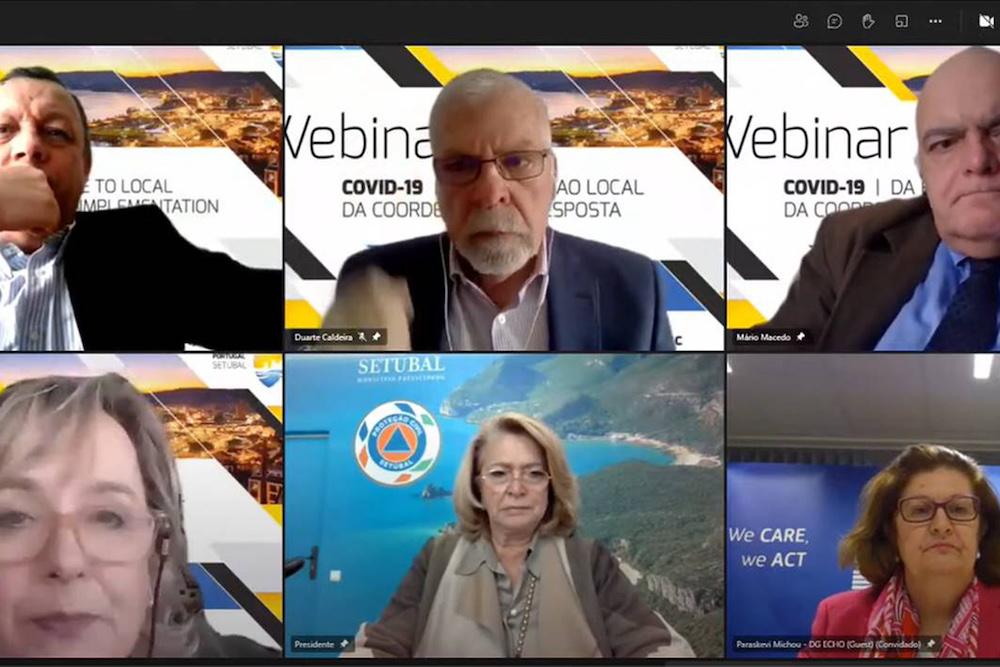 """Webinar - """"Covid19 – da coordenação à resposta na União Europeia"""""""