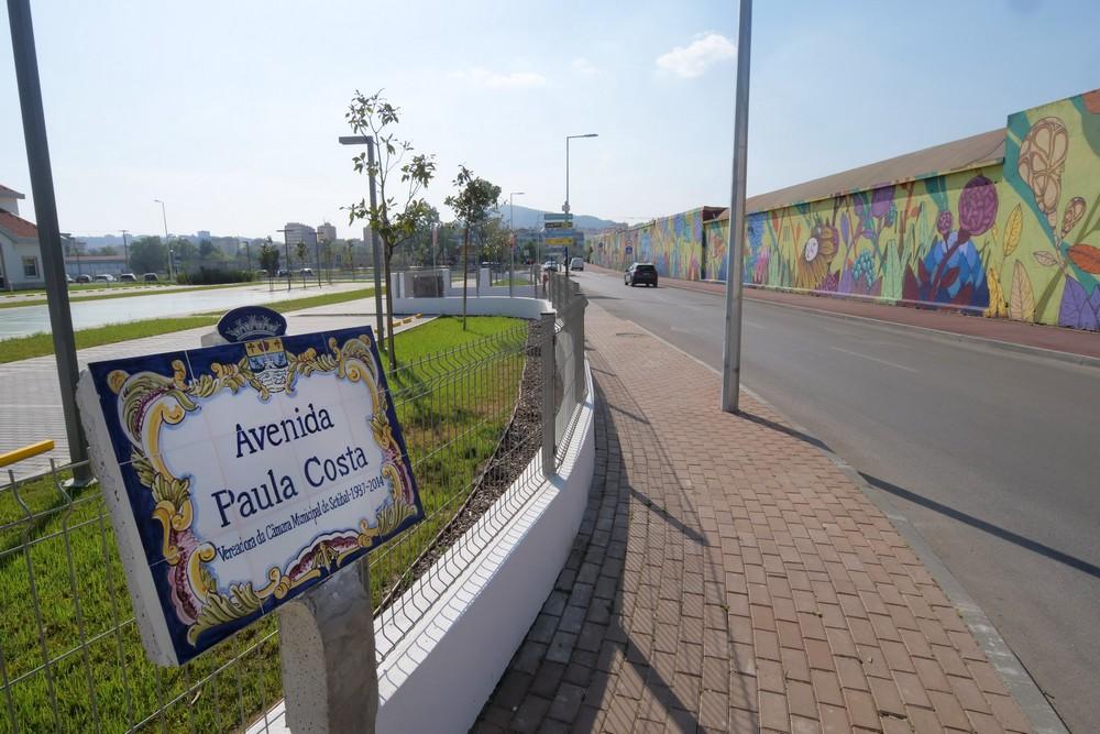 Avenida Paula Costa - inauguração