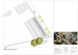 Construção de ossários do Cemitério da Paz   Planta Proposta