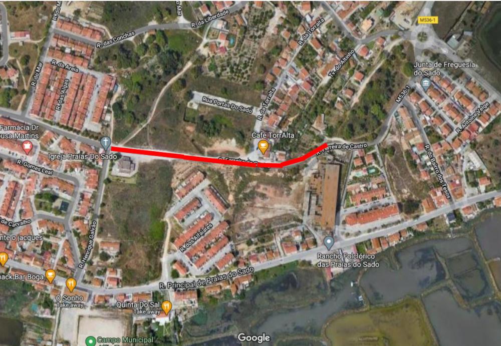 Pavimentação da Rua Carmelindo Elias | Localização