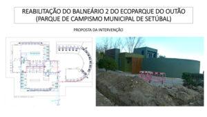 Reabilitação do balneário sul do Ecoparque do Outão   Proposta de intervenção