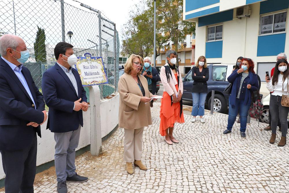 Rua Sílvia Maldonado | inauguração