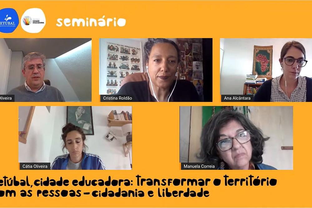 Cidadania e Liberdade | Cidade Educadora | Seminário online