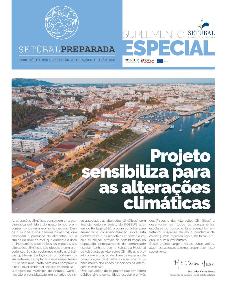 Alterações Climáticas   Jornal Especial   Março 2021