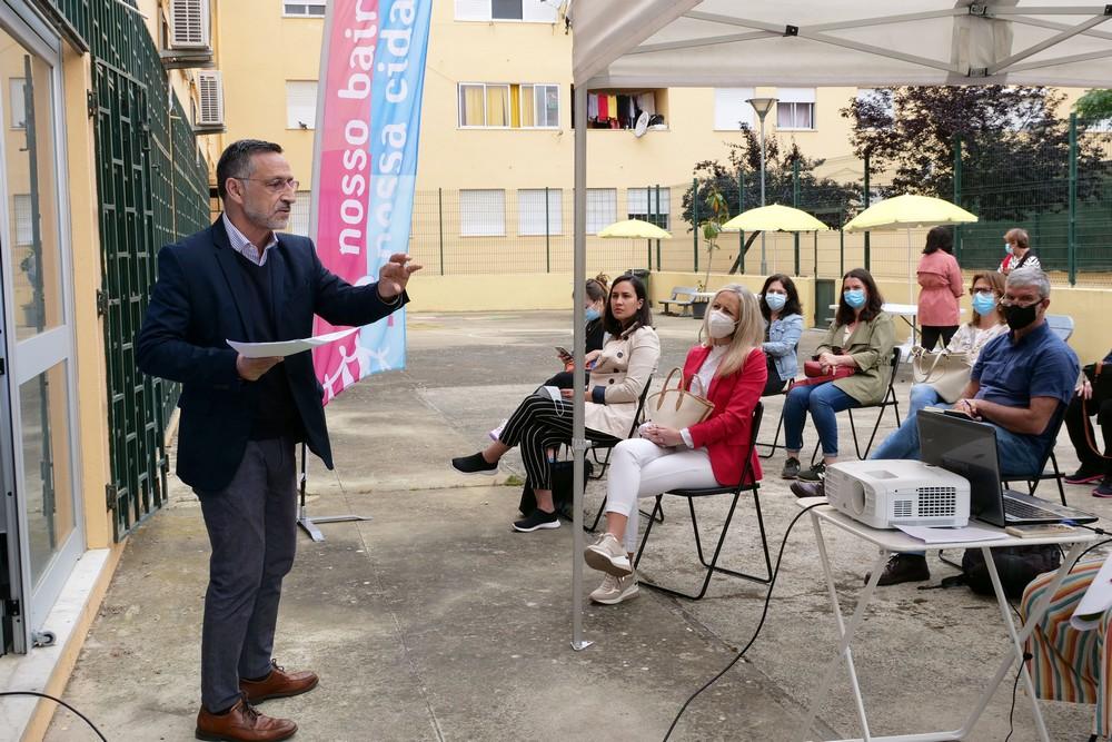 NBNC - visita da Associação Municípios - sessão temática com moradores dos bairros