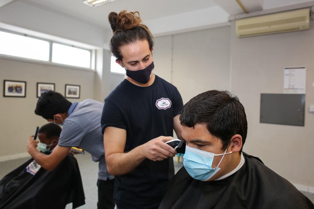 Nosso Bairro, Nossa Cidade | Barbearia no Espaço NBNC da Bela Vista
