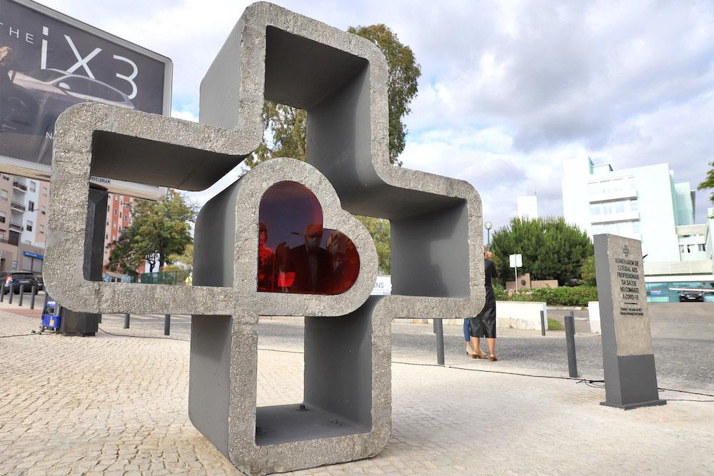 Covid-19 | Monumento de Homenagem aos Profissionais de Saúde