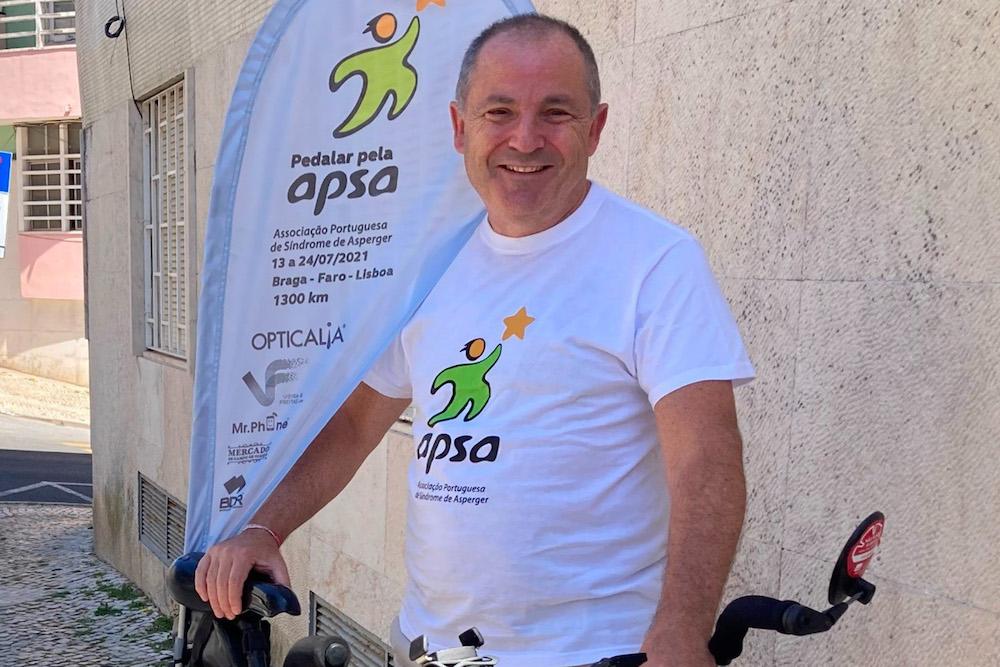 Filipe Gaivão | Pedalar pela Associação Portuguesa de Síndrome de Asperger