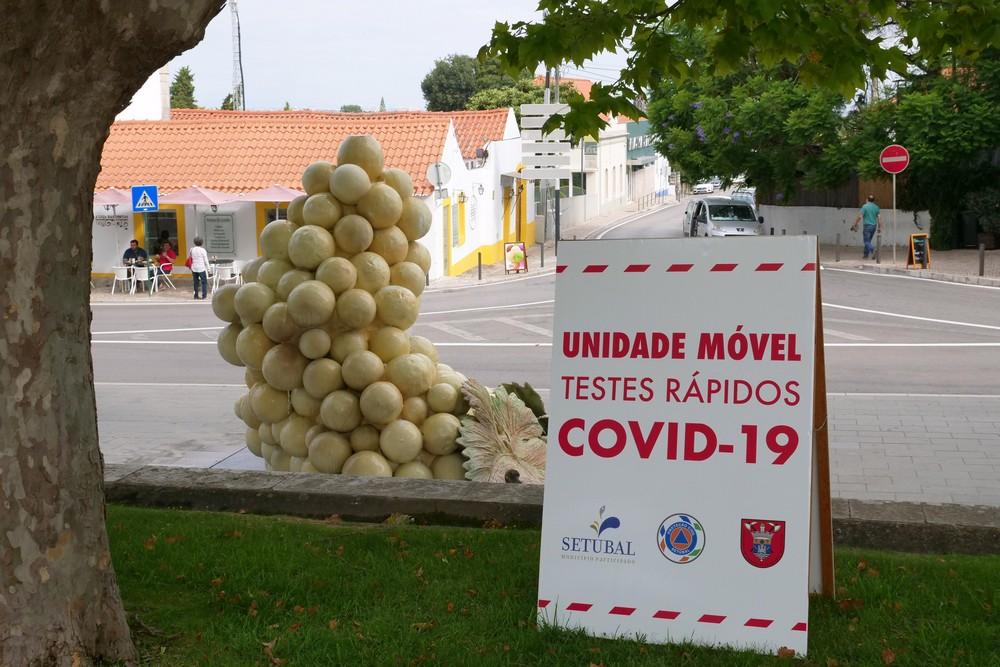 Unidade Móvel de Testes Rápidos Covid-19 | Azeitão