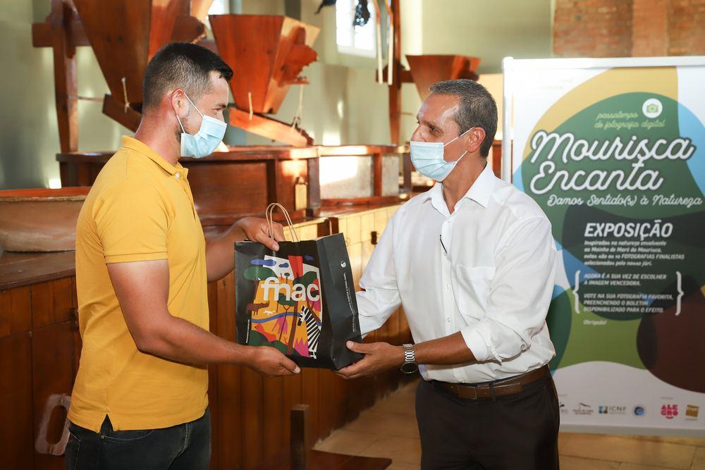 Mourisca Encanta - vencedor do passatempo - Carlos Miguel
