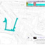 Rua Ocidental do Convento | Repavimentação de troços | Planta de Localização
