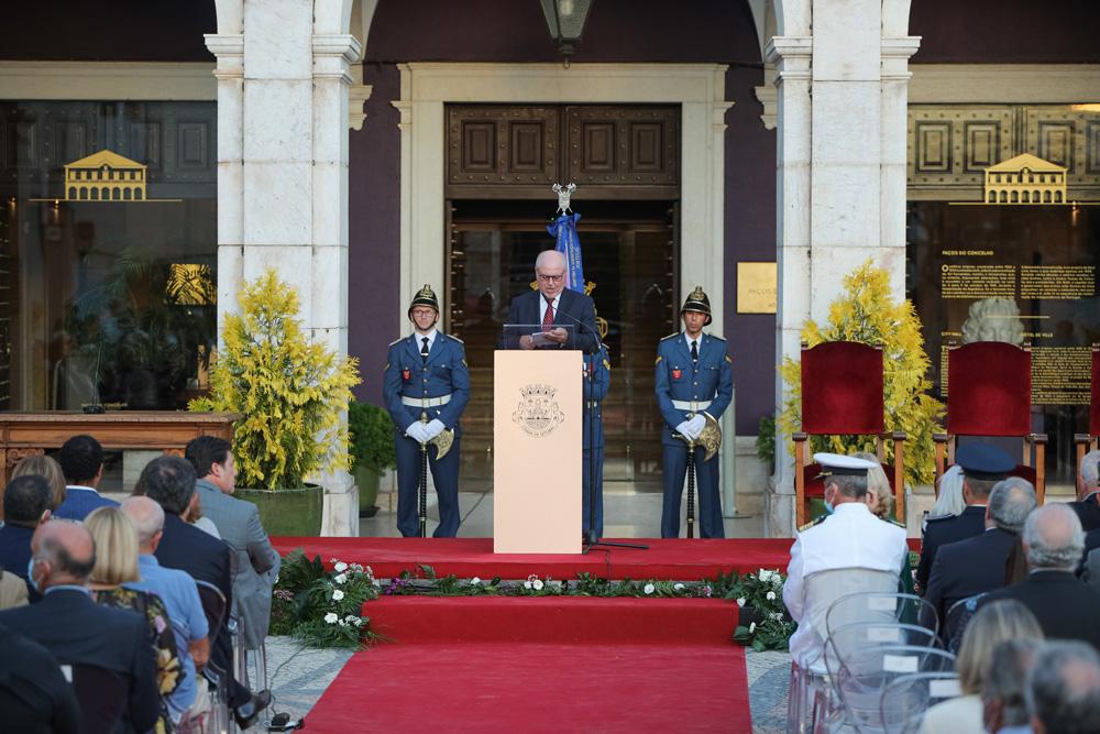Cerimónia de Instalação da Câmara e da Assembleia Municipal de Setúbal - 2021-2025